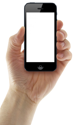 PNG images, PNGs, Phone in hand, Holding a phone, Hold Phone,  (64).png