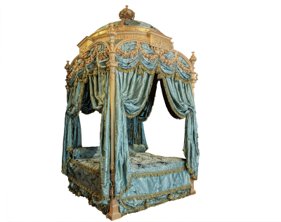 Four Poster Bed, Historically, Princess, Harewood HouseFour Poster Bed Historically Princess Harewood House.png