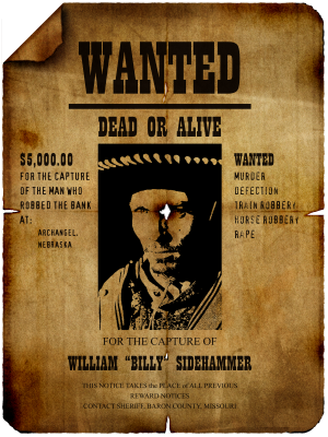 PNG images, PNGs, Wanted, Wanted poster,  (12).png