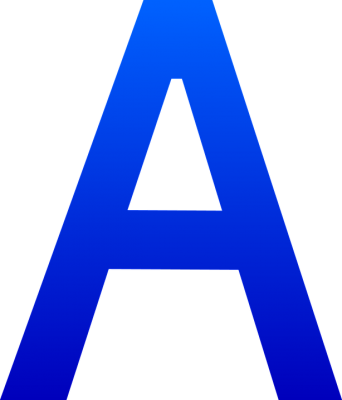 A, Letter A, PNG, Images,  (84).png