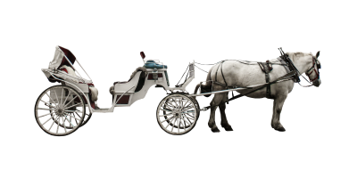 PNG images Horse and cart.png