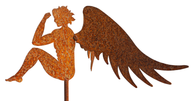 Angel, Guardian Angel, Metal Figure, Handmade, ArtAngel Guardian Angel Metal Figure Handmade Art.png