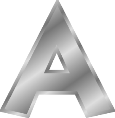 A, Letter A, PNG, Images,  (98).png
