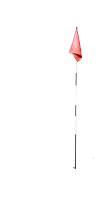 Golf flag PSD file with small and medium free transparent PNG images