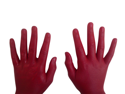 Red-hand-1168908 PSD file with small and medium free transparent PNG images