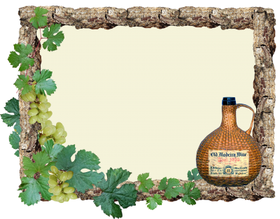 Greeting Card, Grapes, Wine, FrameGreeting Card Grapes Wine Frame.png