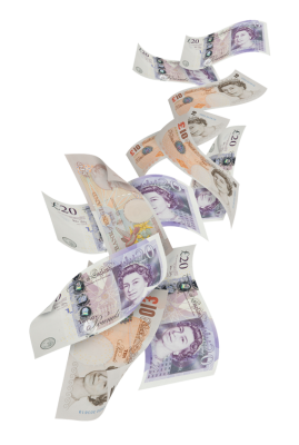 Pound Sterling, British Money, English Money, Paper Money, Notes, PNG images, Pound Note, Pound Notes,  (7).png