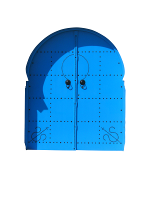 PSD files: Blue doors