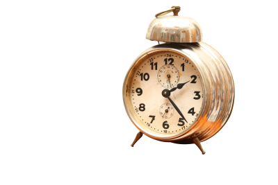 Alarm clock PSD file with small and medium free transparent PNG images