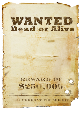 PNG images, PNGs, Wanted, Wanted poster,  (11).png