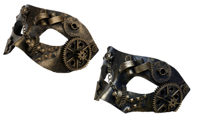 Mask, Steampunk, Metal, Metal Mask, Gears, Chain, IronMask Steampunk Metal Metal Mask Gears Chain Iron.png
