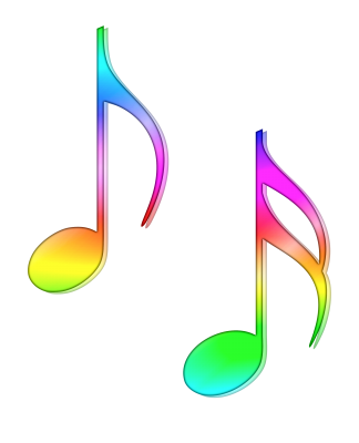 PNG images Music notes (3).png