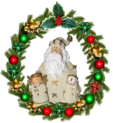 Christmas, Wreath, DecorationChristmas Wreath Decoration.png