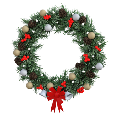 PNG images Wreath (11).png