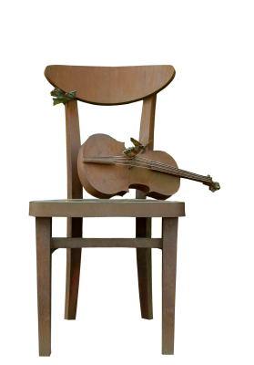Chair, Violin, Music, Musical Instrument, ArtworkChair Violin Music Musical Instrument Artwork.png