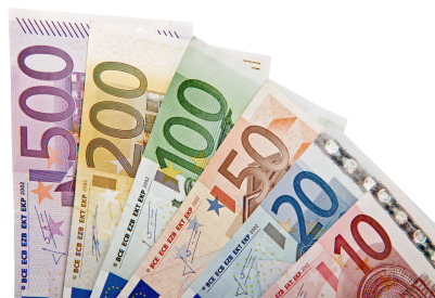 Euro, Euros, Money, Note, Notes, Bank Notes, European Money, PNG, images,  (9).png