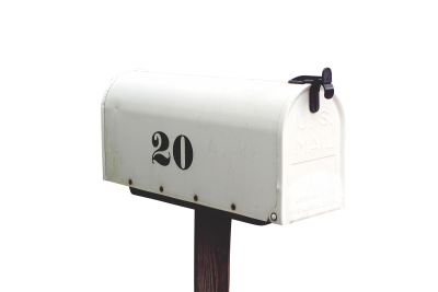 Mailbox PSD file with small and medium free transparent PNG images
