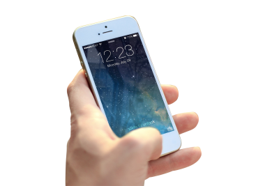 Iphone PSD file with small and medium free transparent PNG images