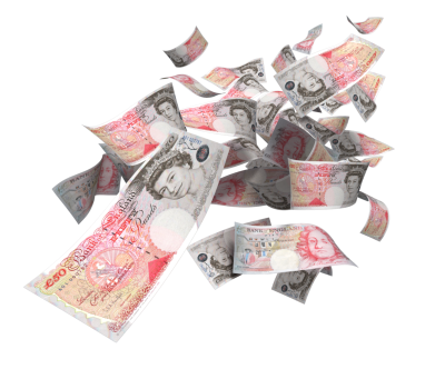 Pound Sterling, British Money, English Money, Paper Money, Notes, PNG images, Pound Note, Pound Notes,  (6).png