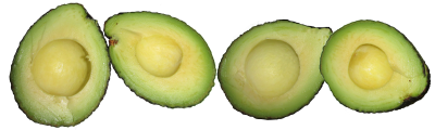 Avocado png images, transparent fruit images, food, healthy eating,