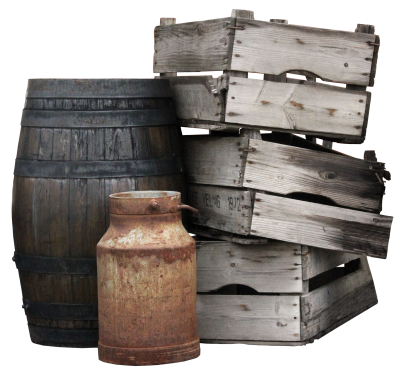 Boxes, Wooden Boxes, Barrel, Pot, Milk Can, OldBoxes Wooden Boxes Barrel Pot Milk Can Old.png