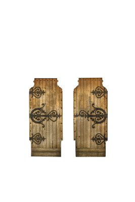 PSD files: Two old doors
