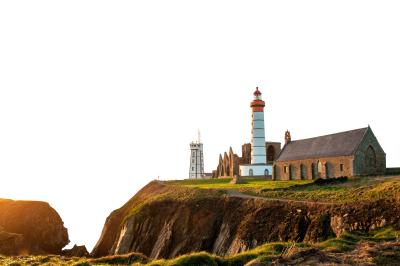 PSD files Landscape lighthouse