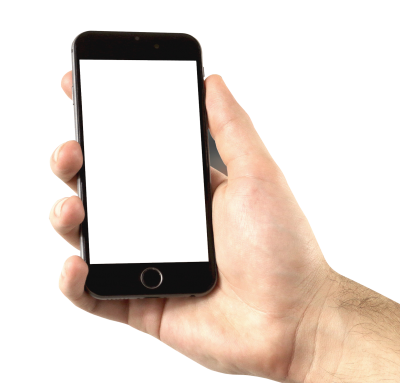 PNG images, PNGs, Phone in hand, Holding a phone, Hold Phone,  (27).png