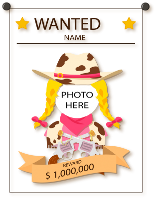 PNG images, PNGs, Wanted, Wanted poster,  (3).png
