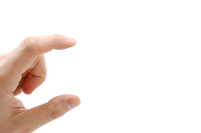 Business card PSD file with attached free transparent PNG images