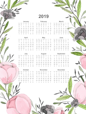 2019, PNG, New Year PNGs (3).png