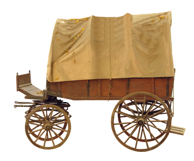 Covered Wagon, Wooden Cart, Spokes, Means Of TransportCovered Wagon Wooden Cart Spokes Means Of Transport.png