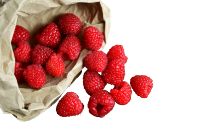 Raspberries In The Bag, Isolated, Fruit, HealthyRaspberries In The Bag Isolated Fruit Healthy.png