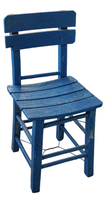 Chair, Wooden Chair, Wooden, Old, Blue, Blue ChairChair Wooden Chair Wooden Old.png