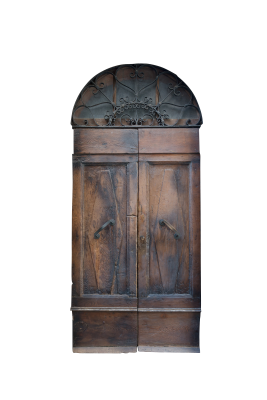PSD files: Wooden door