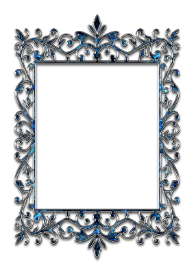 PNG images Silver frame (6).png
