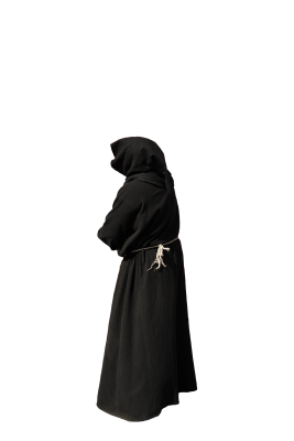 Monk, Habit, Black, IsolatedMonk Habit Black Isolated.png