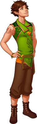 PNG images, PNGs, Elf,  (128).png