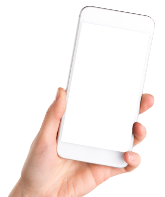 PNG images, PNGs, Phone in hand, Holding a phone, Hold Phone,  (28).png