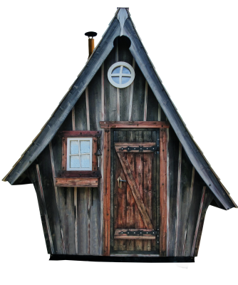 Woodhouse, Hut, Witch'S House, Isolated, Log CabinWoodhouse Hut Witch's House Isolated Log Cabin.png