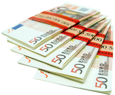Euro, Euros, Money, Note, Notes, Bank Notes, European Money, PNG, images,  (1).png