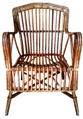 Chair, Antique, Cane, FurnitureChair Antique Cane Furniture.png