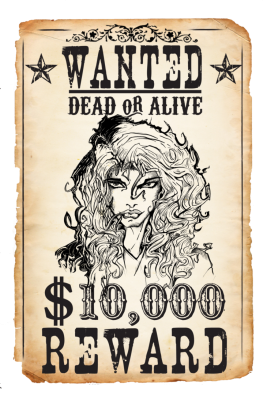 PNG images, PNGs, Wanted, Wanted poster,  (18).png