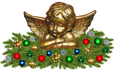 Christmas, Decoration, Angel, DecorativeChristmas Decoration Angel Decorative.png