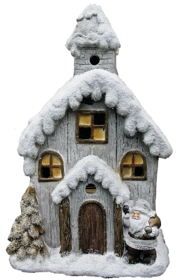 PNG images Christmas house.png