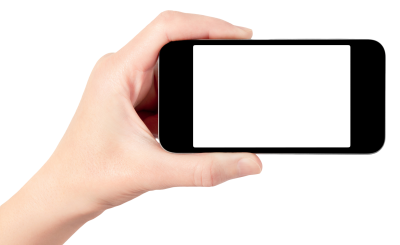 PNG images, PNGs, Phone in hand, Holding a phone, Hold Phone,  (67).png