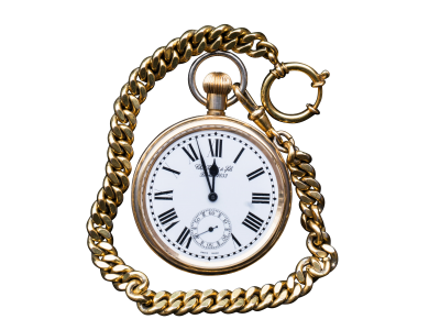 Pocket watch PSD file with small and medium free transparent PNG images