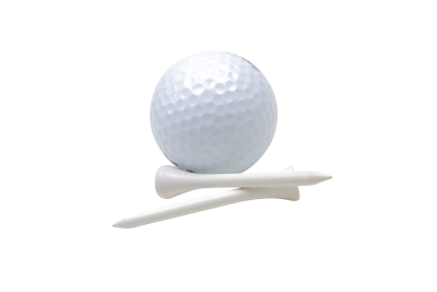 Golf tee PSD file with small and medium free transparent PNG images