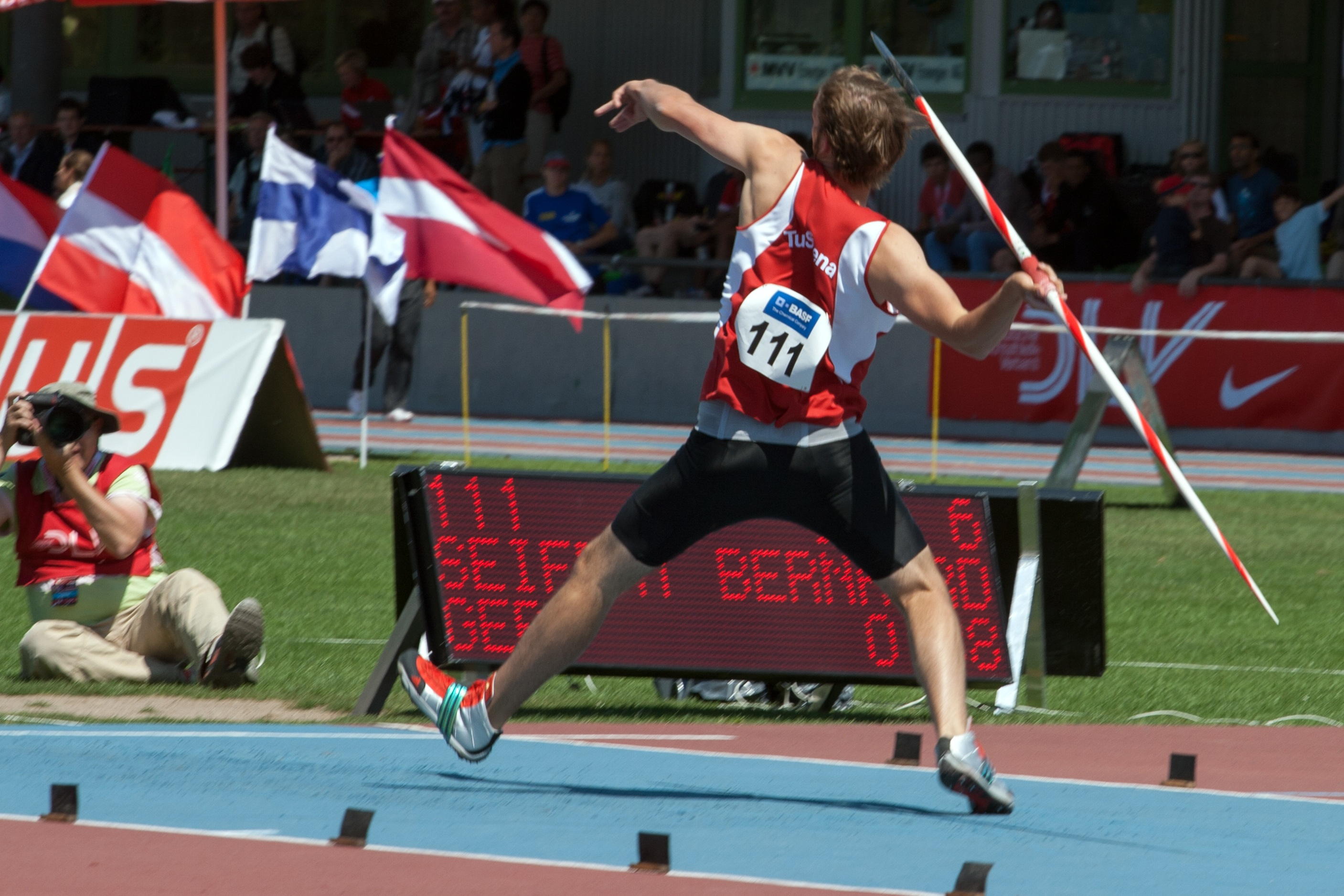 Rules for the Olympic Sport of Javelin Throwing  ThoughtCo